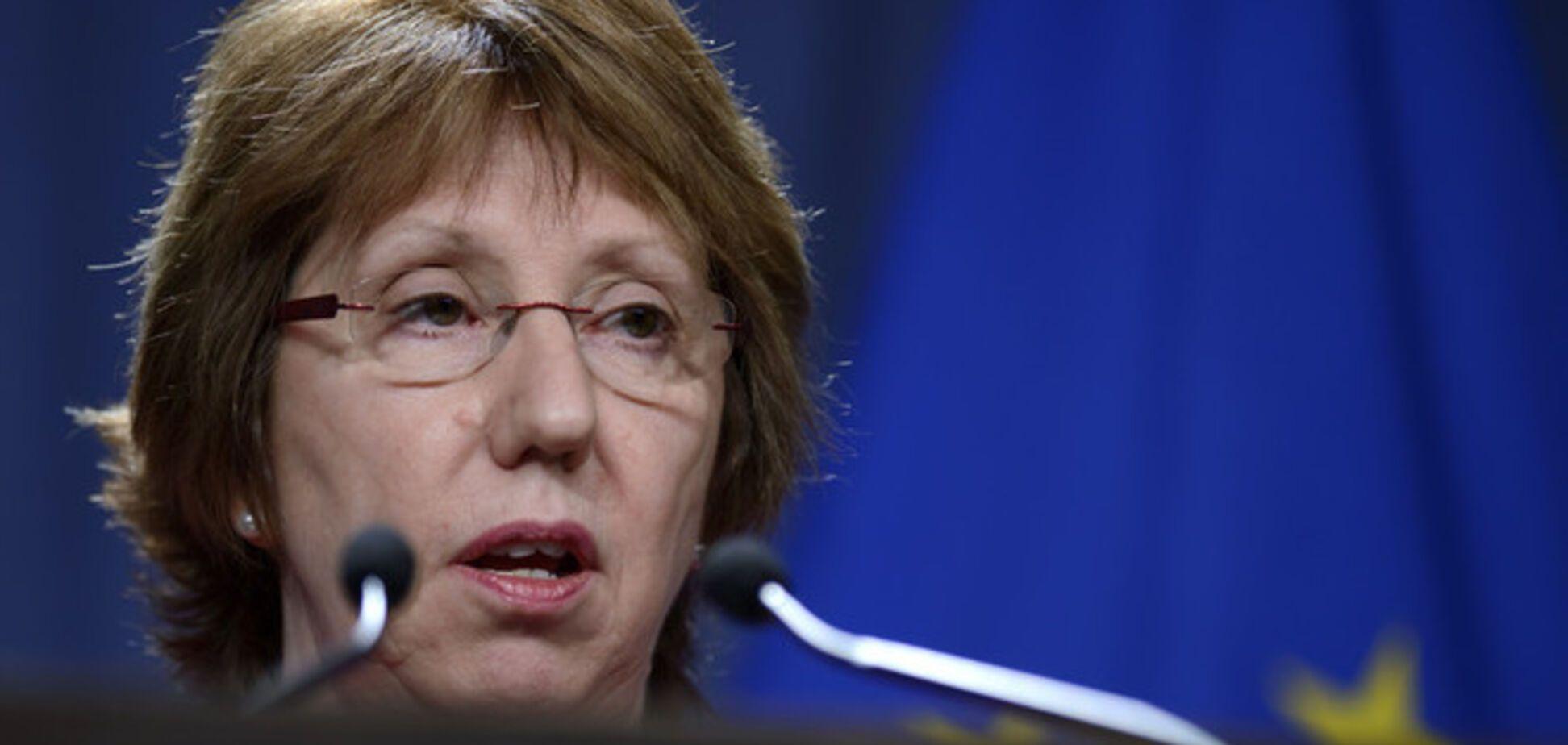 Ештон закликала Київ до 'розсудливості' при проведенні АТО