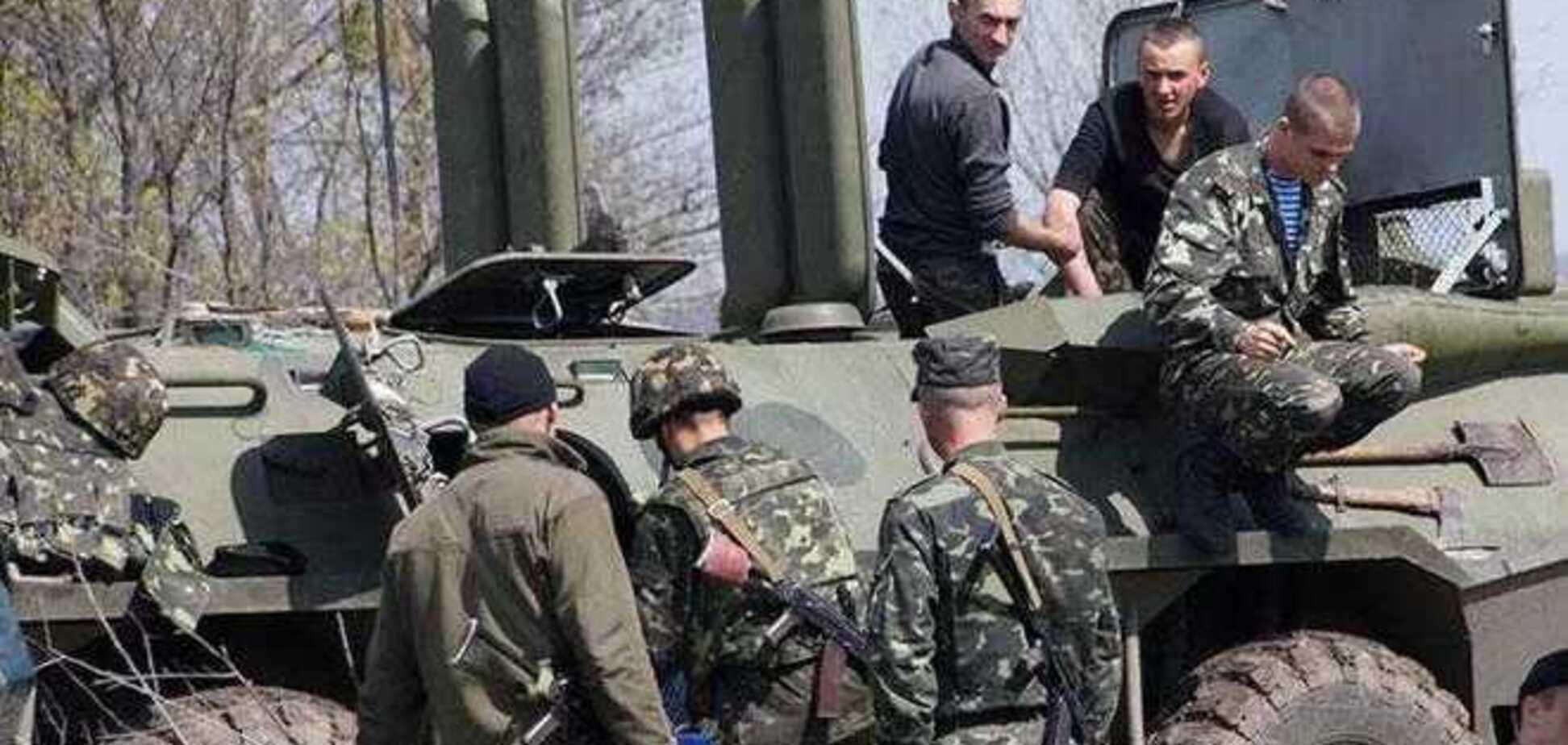 В Донецке десантники отбили у сепаратистов две БМД