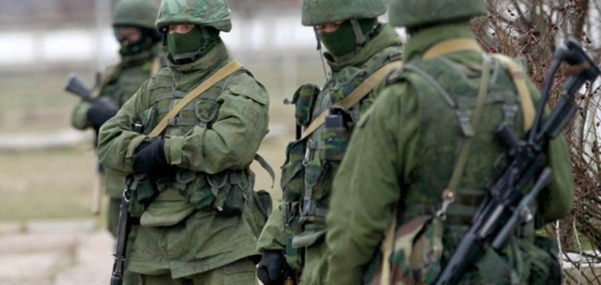 'Зелених чоловічків' для Путіна готували німецькі спецназівці - ЗМІ