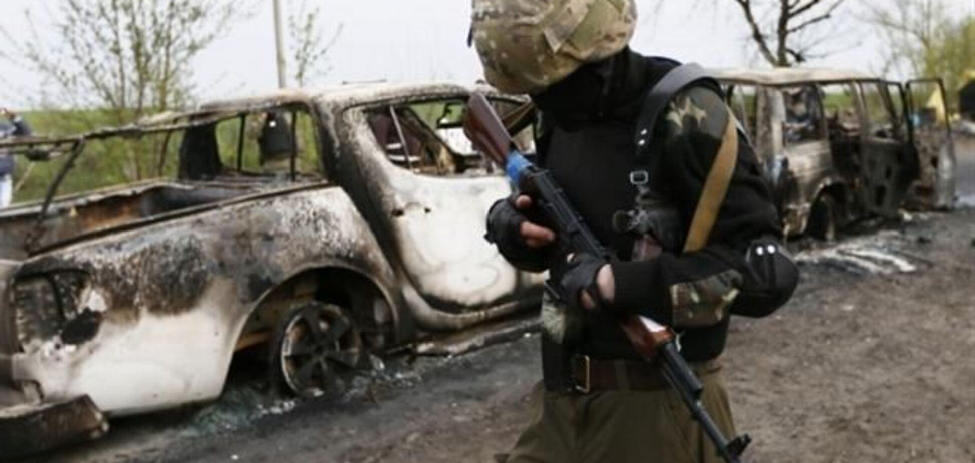 Власти Славянска сообщили о 12 пострадавших в перестрелках