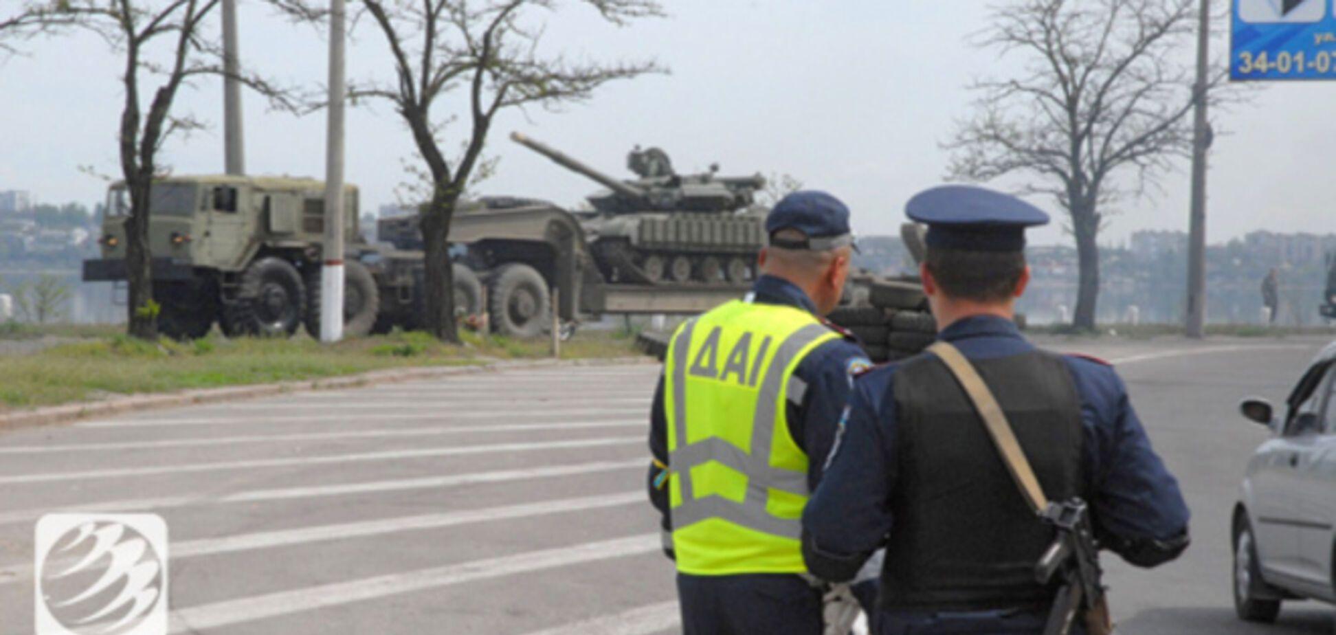 На Донетчине установлено уже 22 блокпоста от сепаратистов