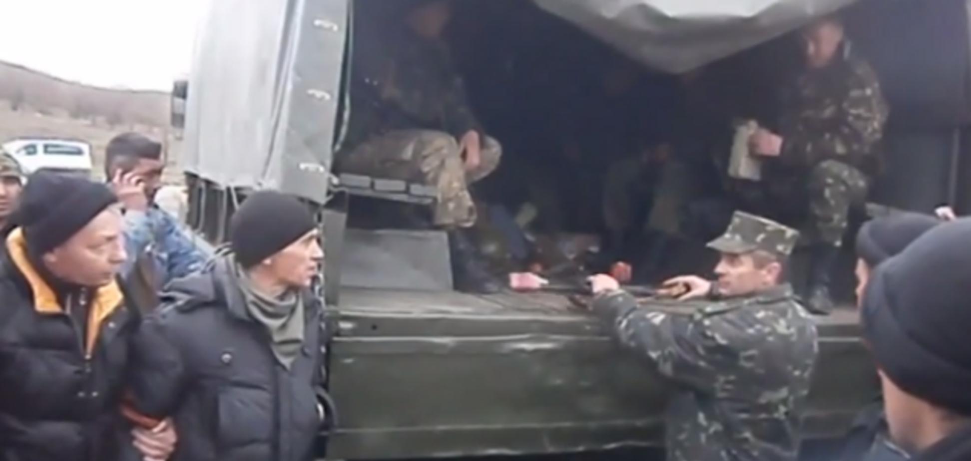 Атака на воинскую часть в Артемовске: подробности