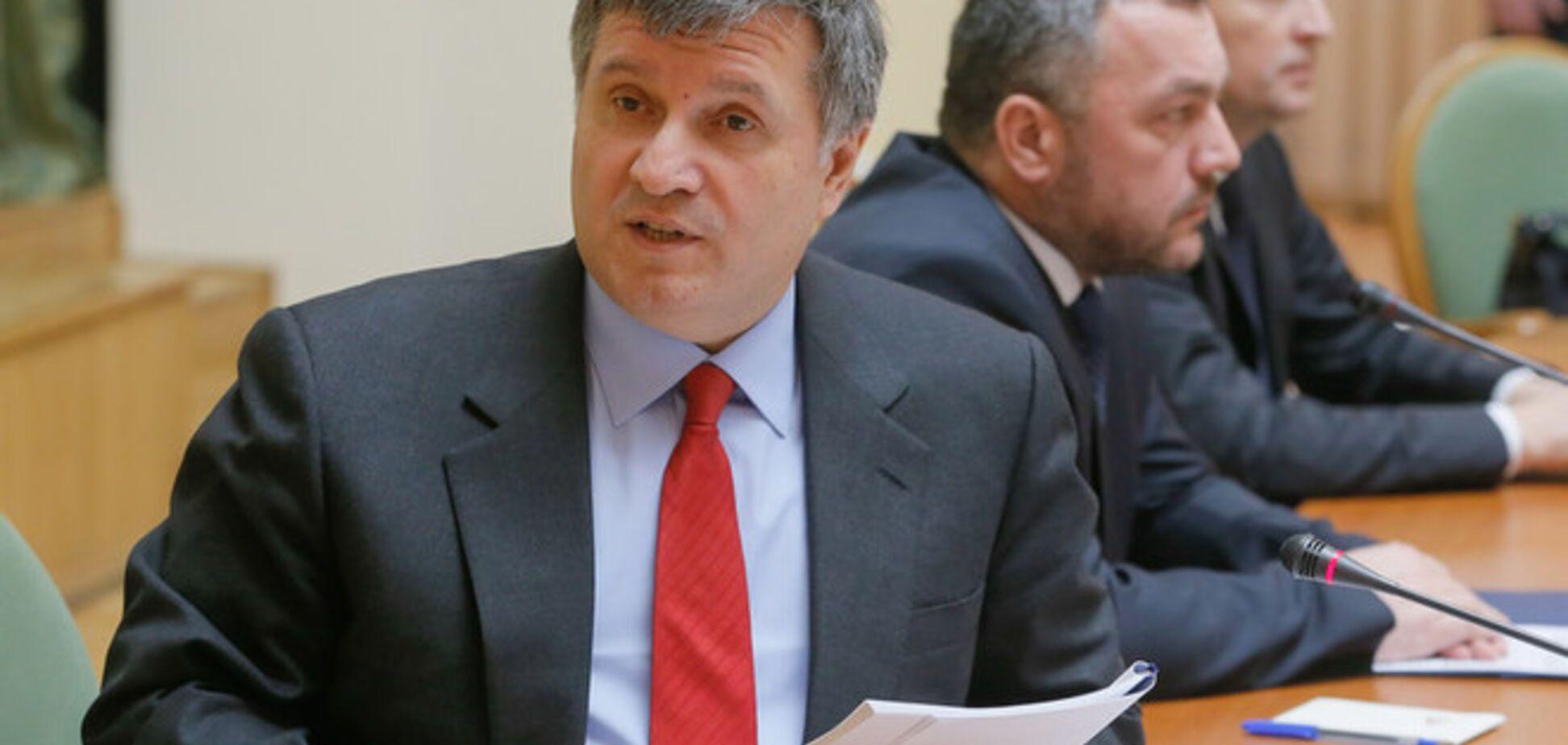 Аваков: милиция на востоке Украины не готова к выполнению обязанностей