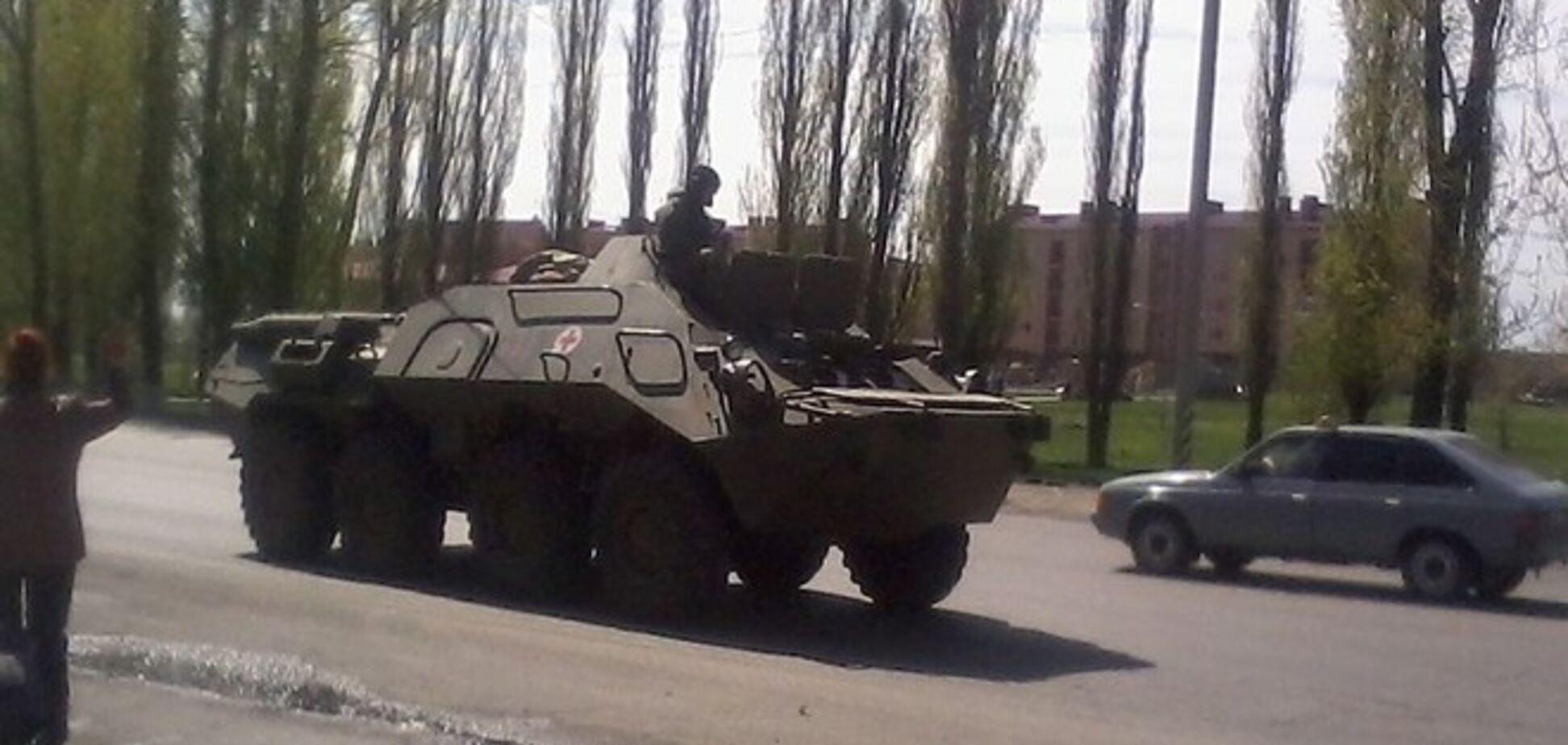 Провокаторы под Артемовском требовали от военных сложить оружие – Минобороны