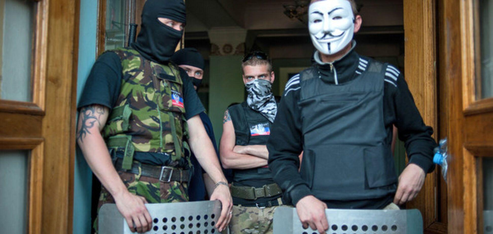 В Донецке террористы вернули трансляцию российского телеканала