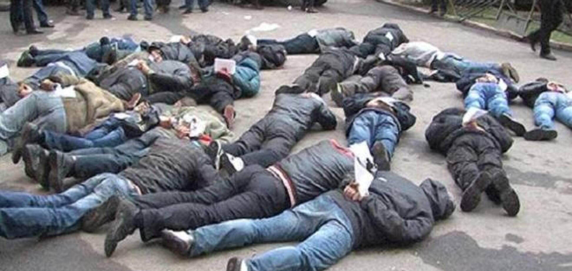 В Харькове милиция задержала агрессивных сепаратистов
