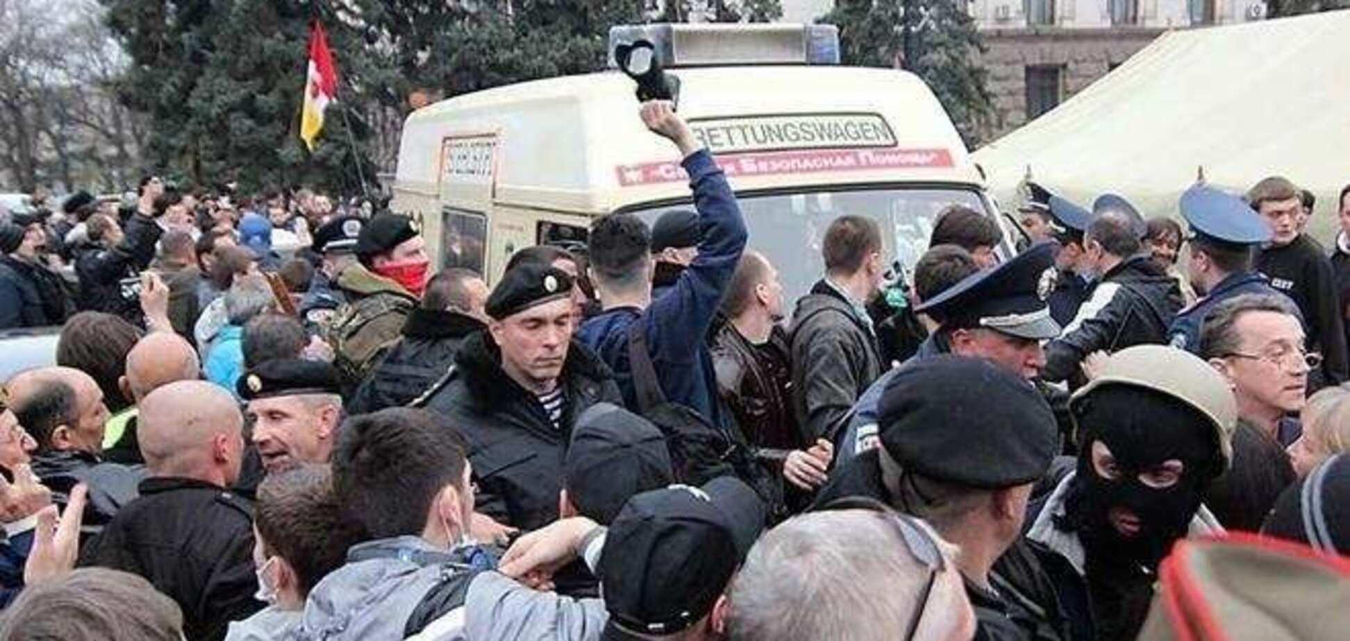 На Одесщине неизвестные под видом активистов Евромайдана пытались захватить РГА
