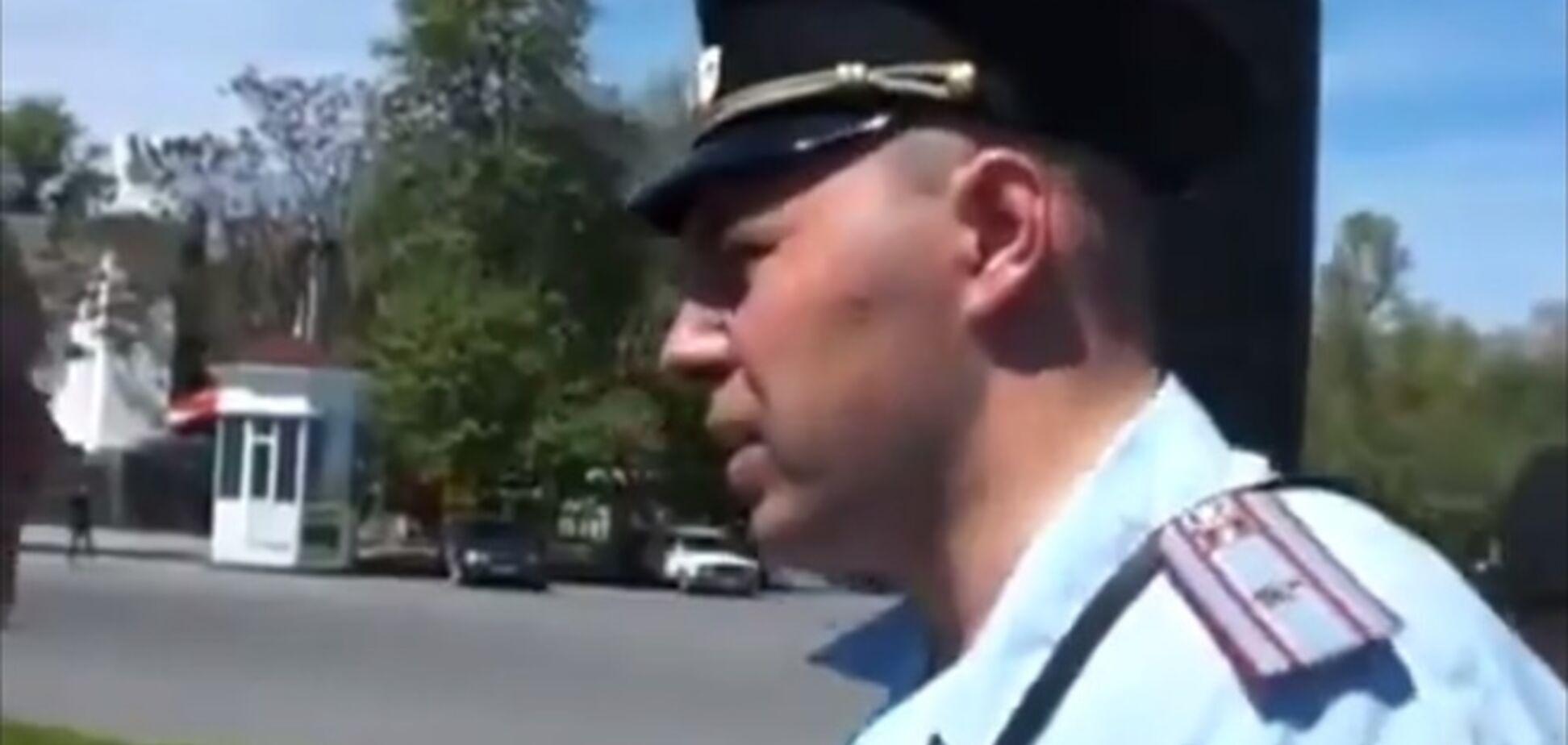 В Крыму разогнали пророссийский митинг