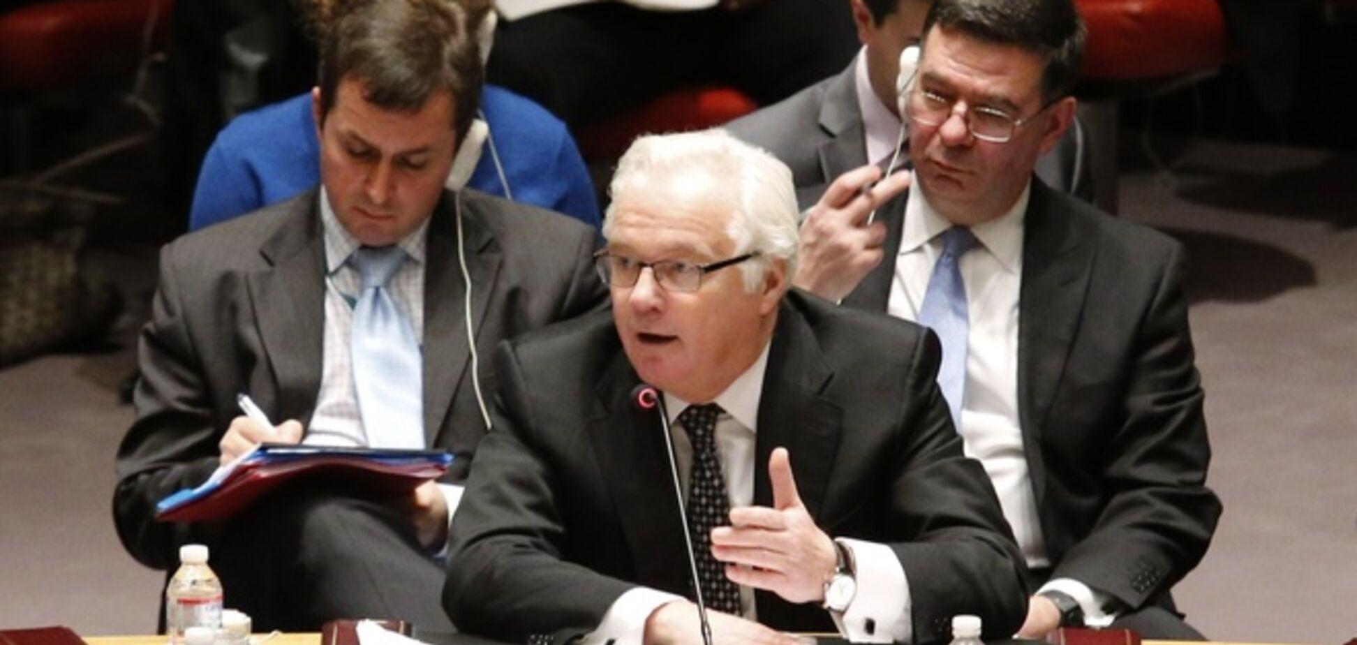 Чуркін переклав провину за захоплення спостерігачів ОБСЄ на київську владу