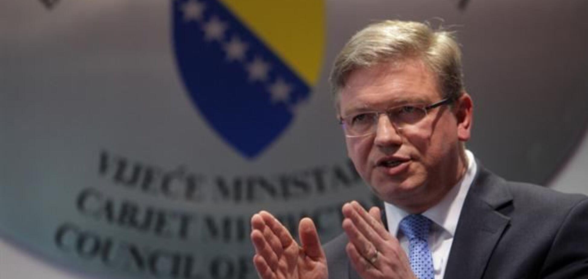 У Євросоюзі готуються ввести другий етап візової лібералізації для України - Фюле