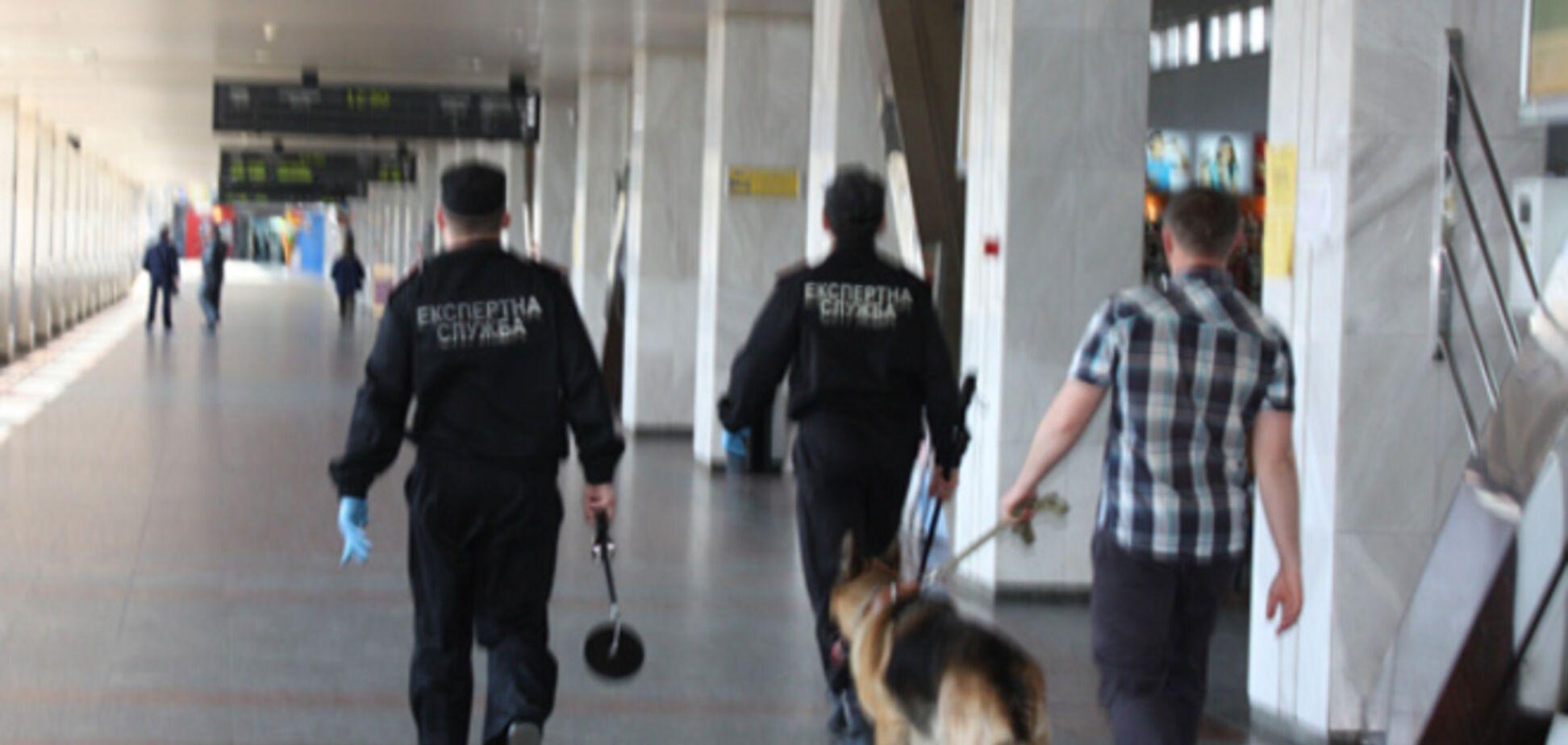 В Киеве на ж/д вокзале искали бомбу