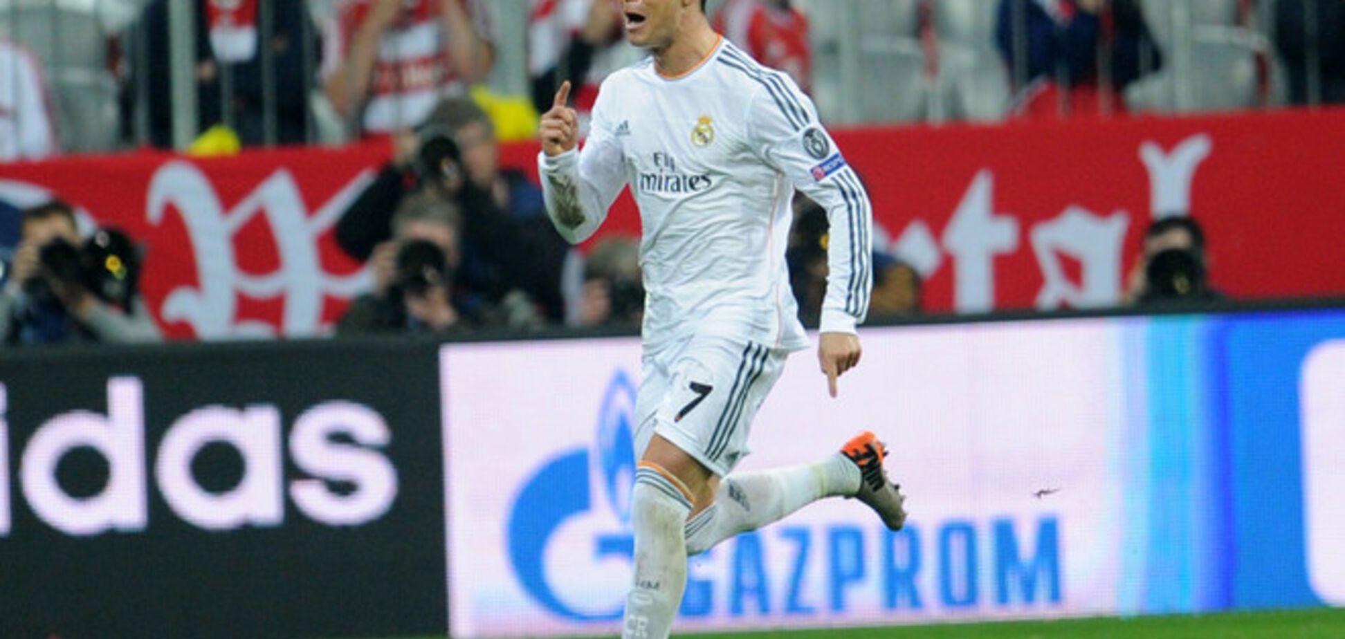 Роналду вышел на первое место по количеству голов среди действующих футболистов