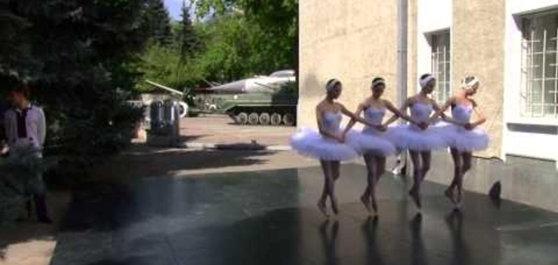Для Путина в Одессе станцевали 'Лебединое озеро'