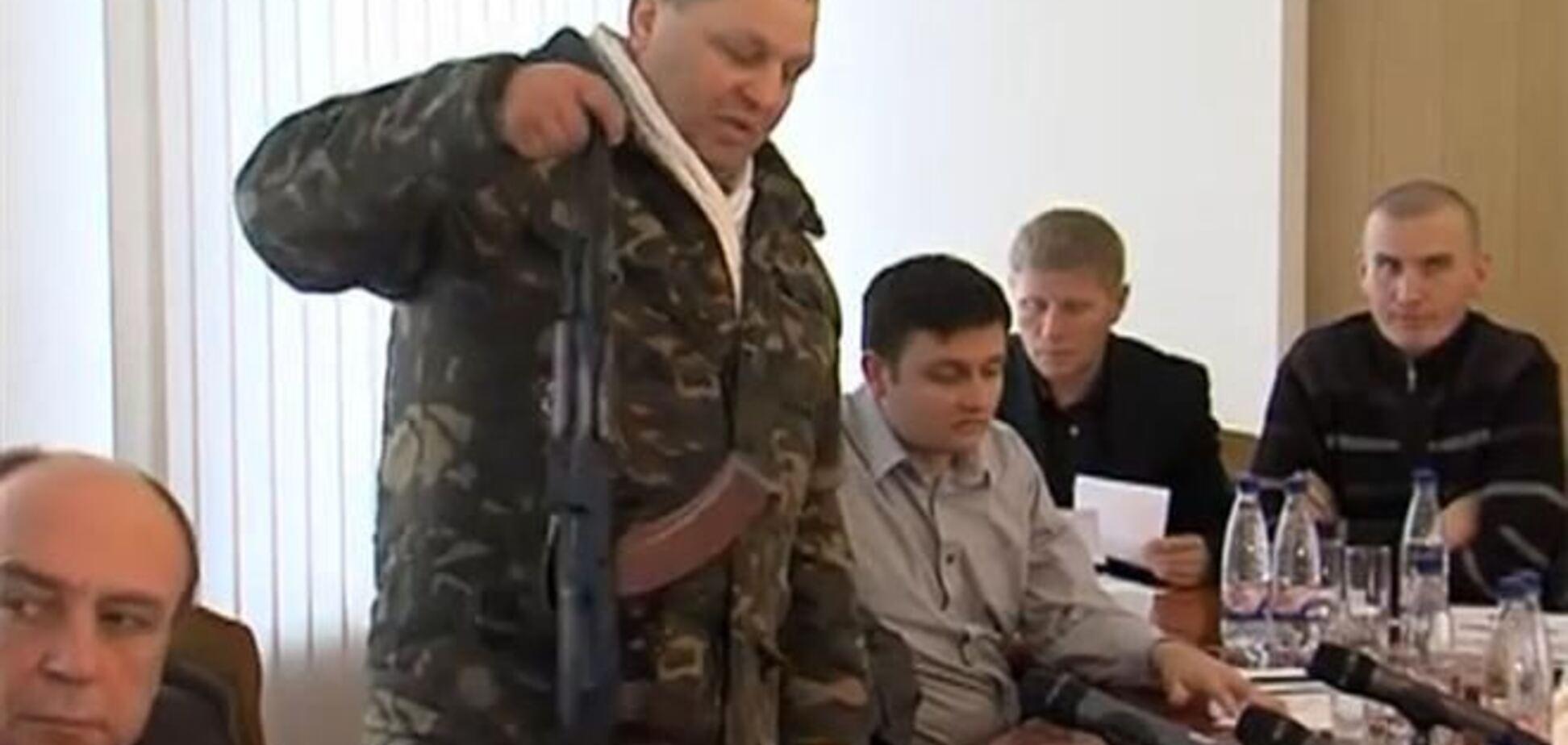Оприлюднено телефонні розмови Саші Білого про гранати і кулемети