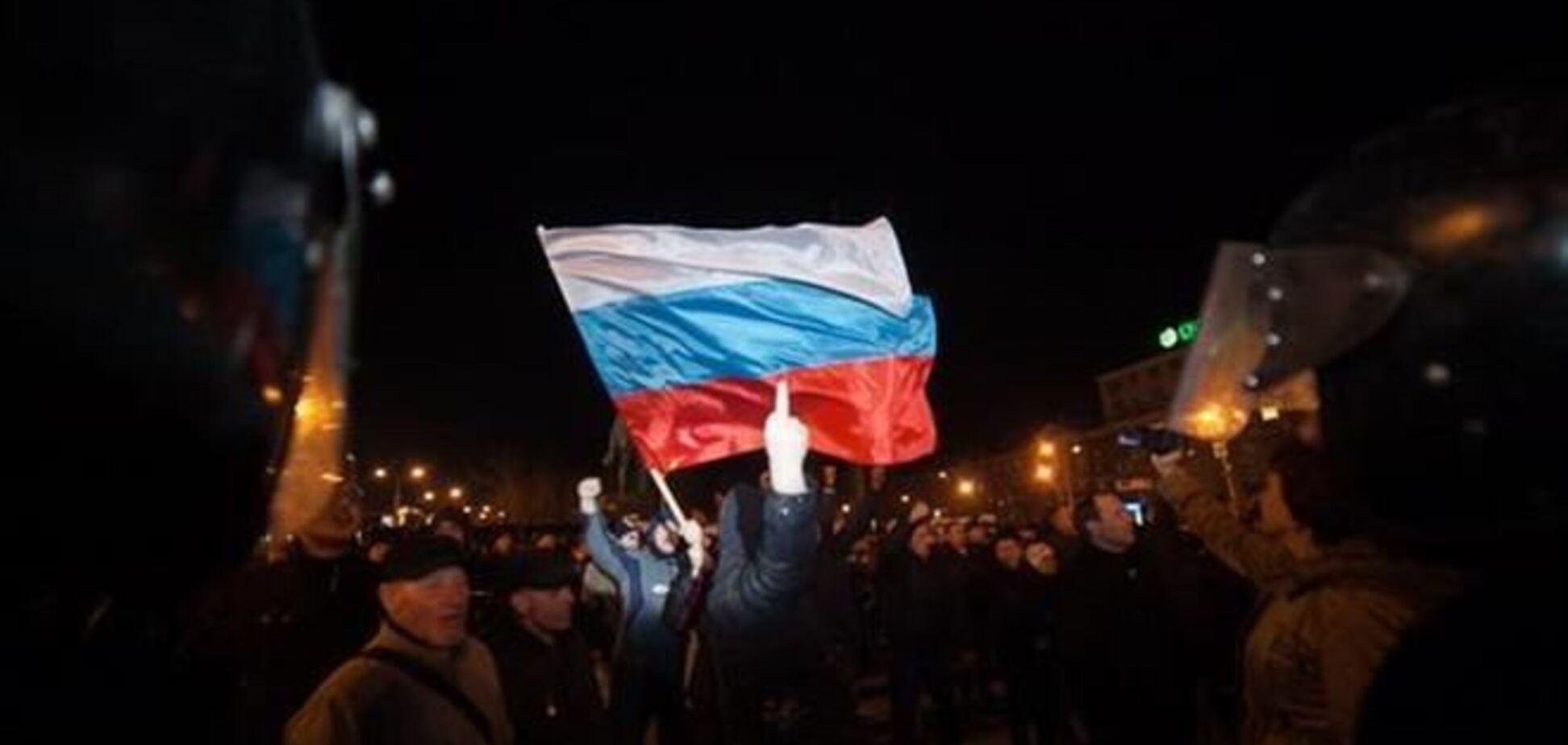 В Донецке установили личности  участников  массовых беспорядков