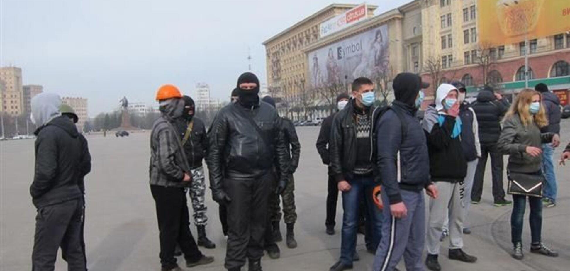 В Харькове задержали сепаратиста с двумя ножами