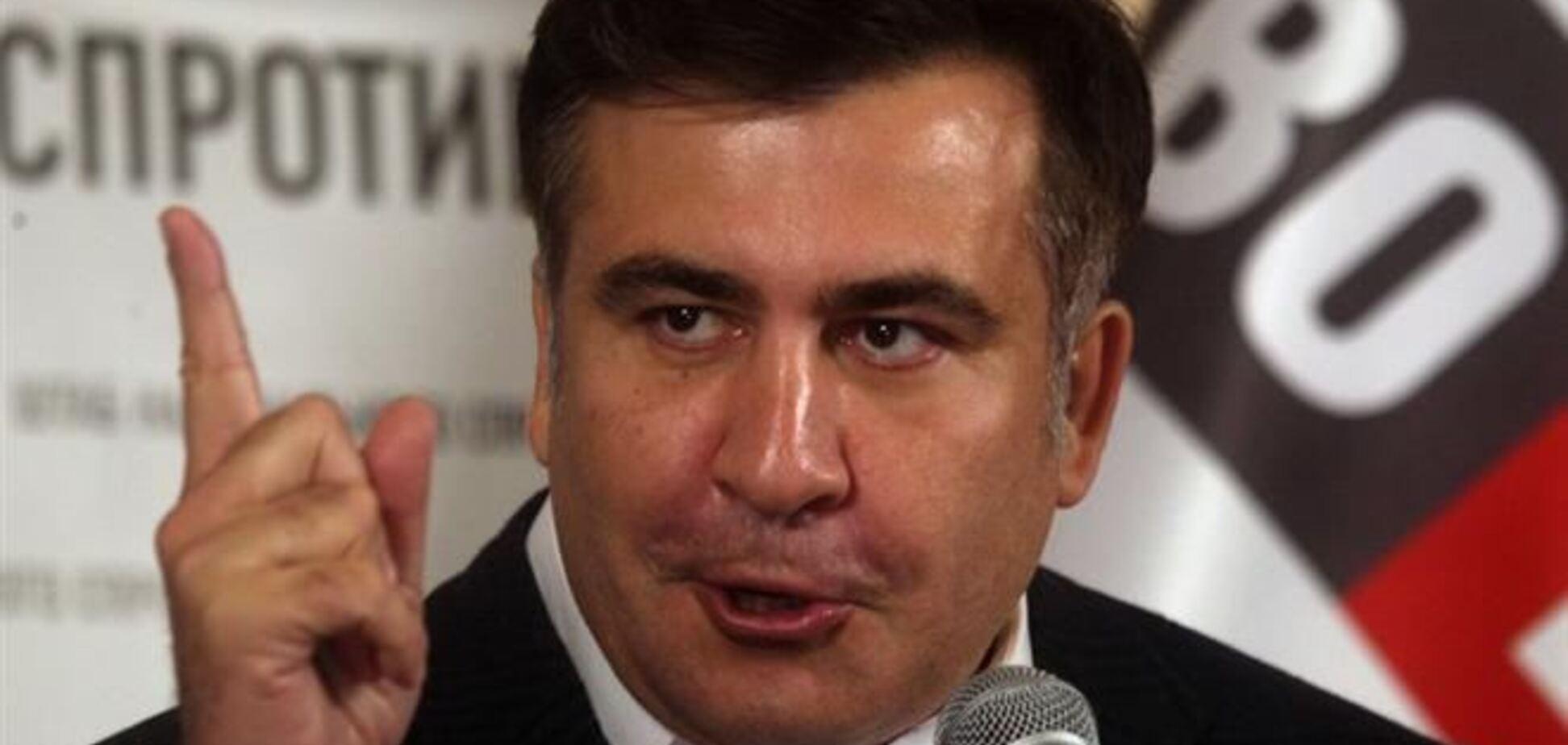 Саакашвили советует украинцам сопротивляться агрессии РФ