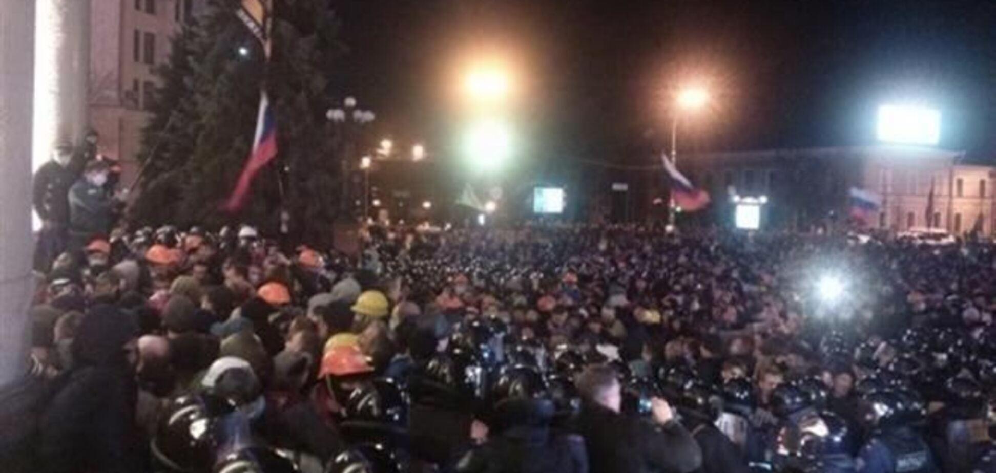 Все задержанные в Харькове утверждают, что они граждане Украины