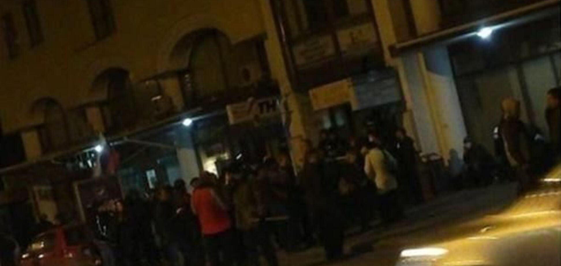 Міліція охороняє раніше захоплену сепаратистами телевежу у Харкові