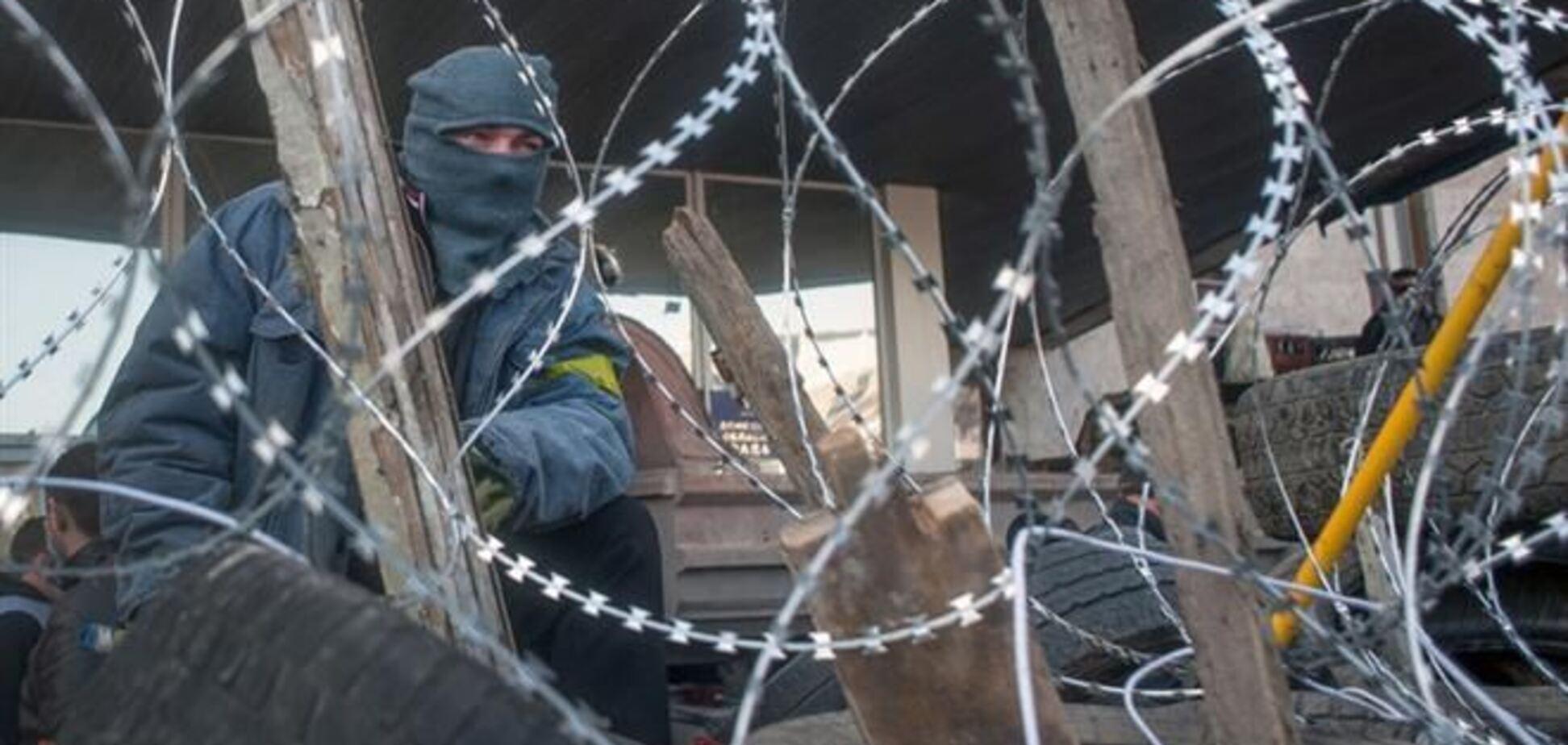 Сепаратисты продолжают блокировать Донецкую ОГА