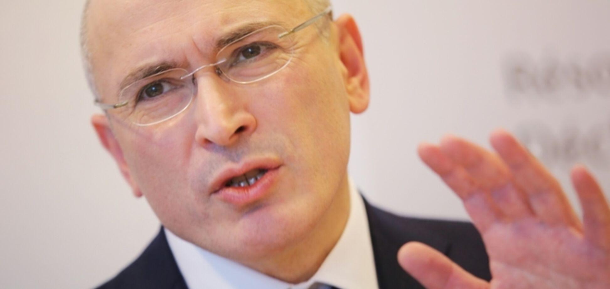 Донбас може розгойдати Росію, як ніяка опозиція - Ходорковський