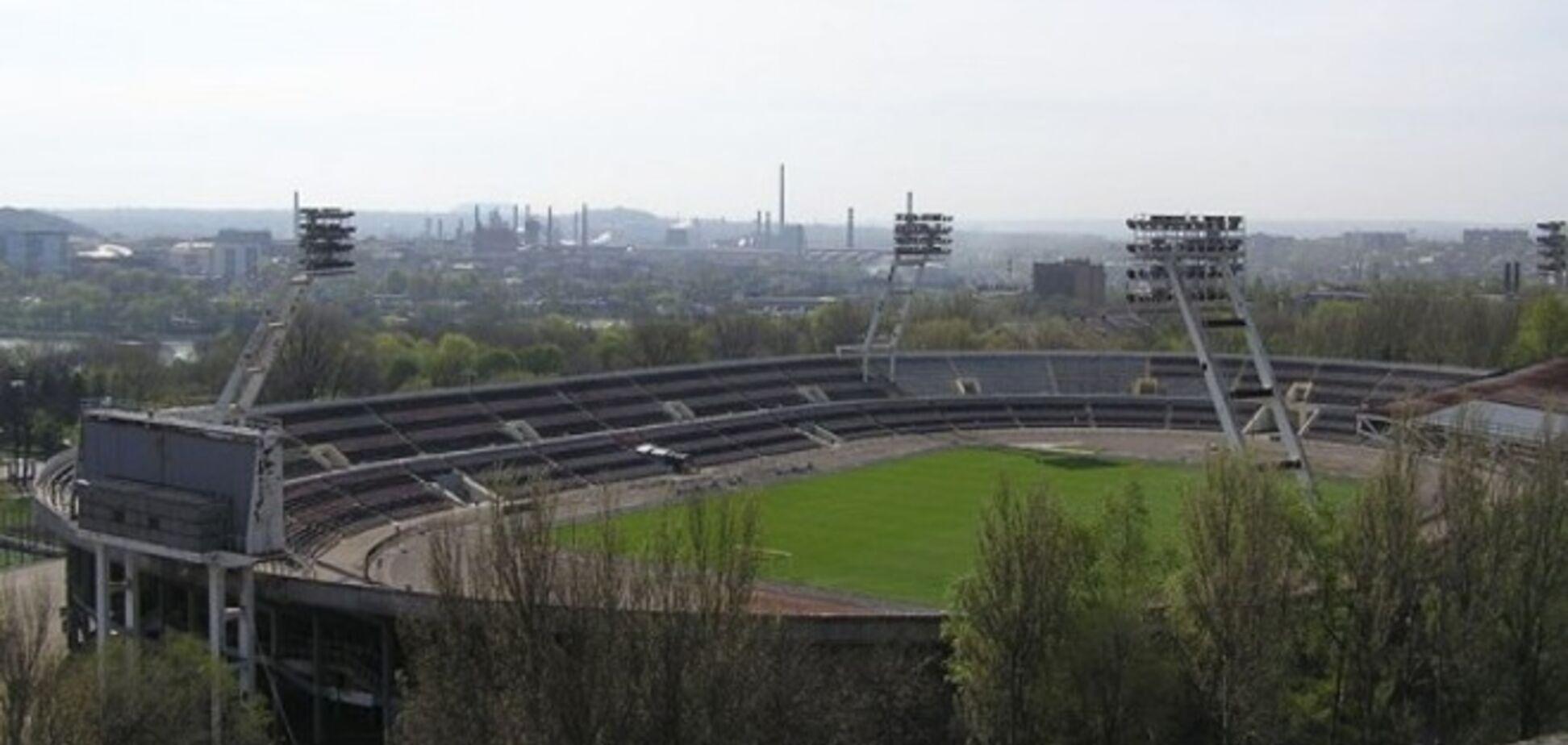Пособники террористов пытаются захватить стадион 'Шахтер' в Донецке