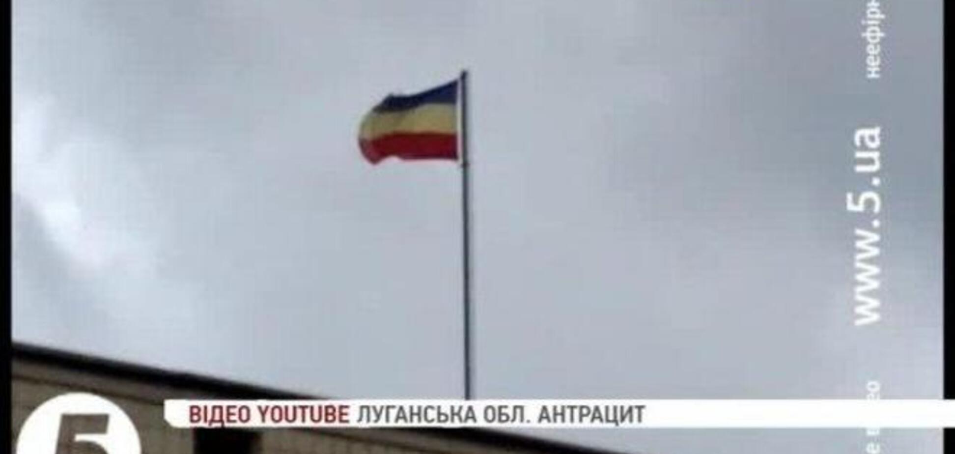 В Антрациті сепаратисти не змогли відрізнити нідерландський прапор від російського