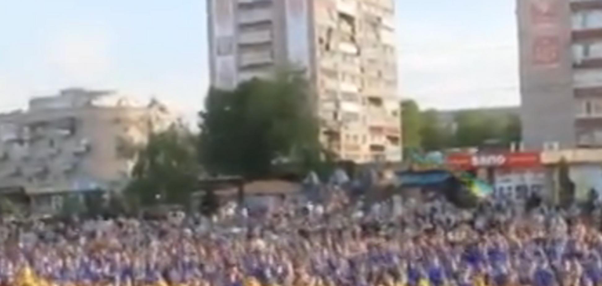 У Черкасах били рекорди масовим присіданням за єдину Україну