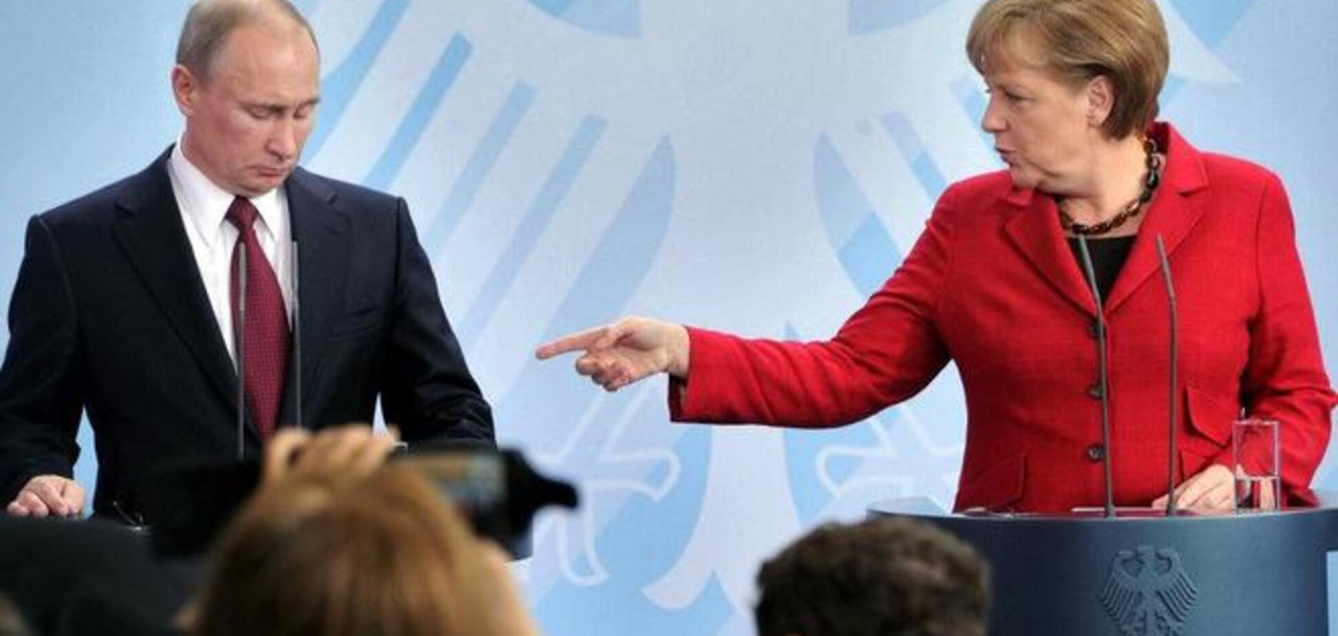 Меркель подзвонила Путіну і нагадала про відповідальність