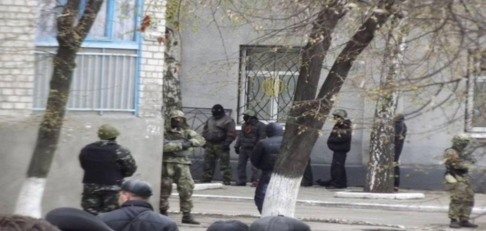 Пособники террористов захватили горотдел милиции в Красноармейске