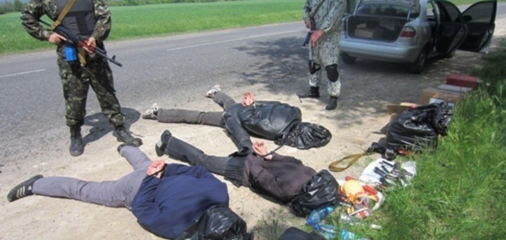 Затримано групу терористів, які перевозили понад 100 тисяч 'проголосували' бюлетенів