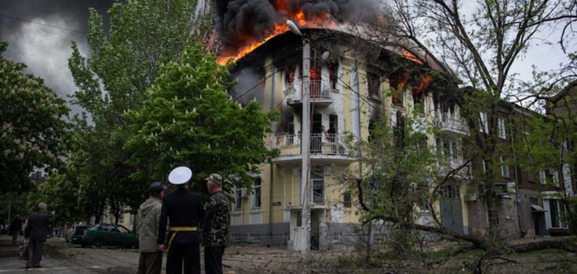ОБСЕ осудила насилие в Мариуполе 9 мая