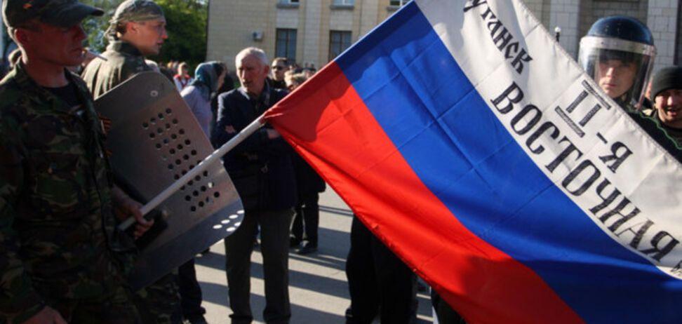 Украинские силовики взяли под контроль большую часть Луганской области - источник