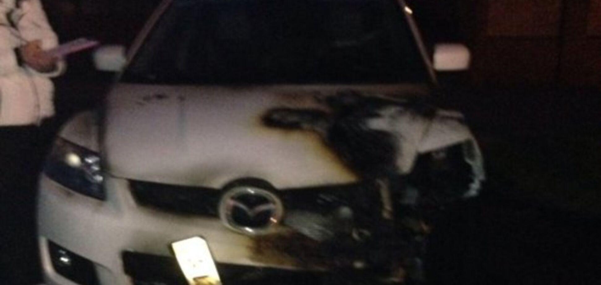 На Киевщине неизвестные подожгли авто активиста Майдана