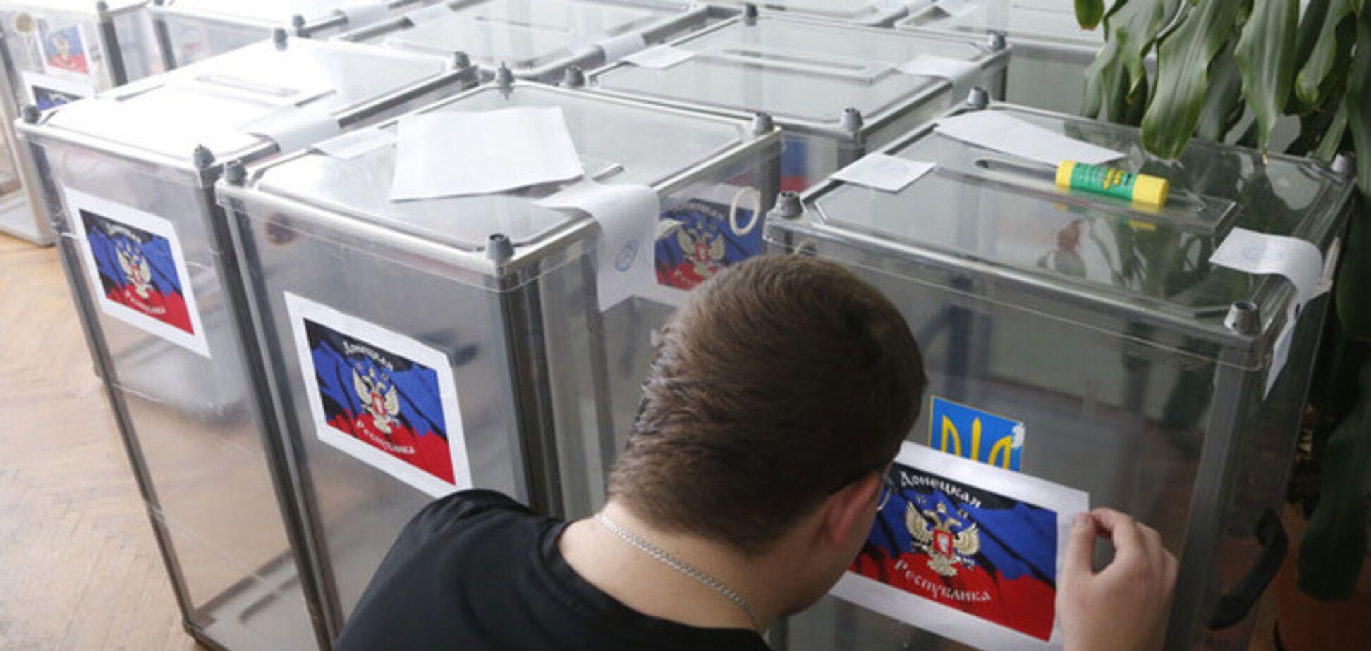 Террористы надеются, что Донецкий 'референдум' пройдет на 1,5 тыс. избирательных участках