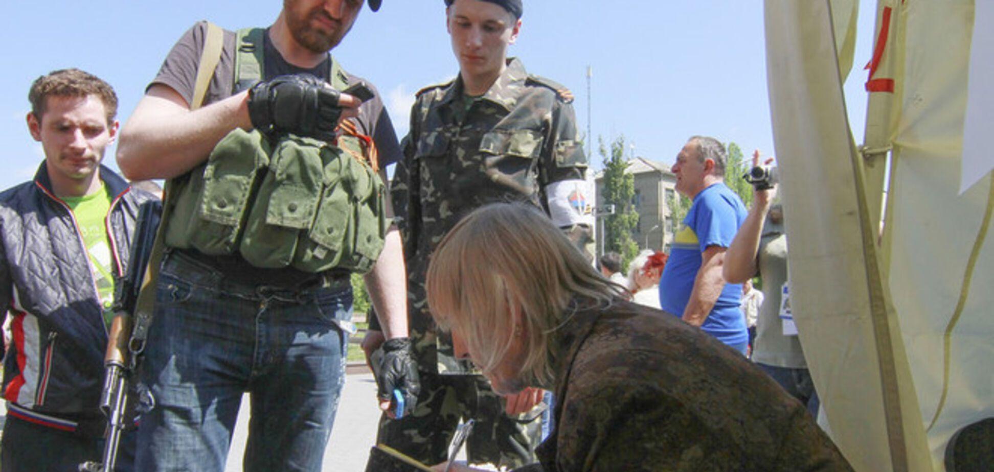 В Луганской ОГА сообщили, что на севере области нет никакого 'референдума'