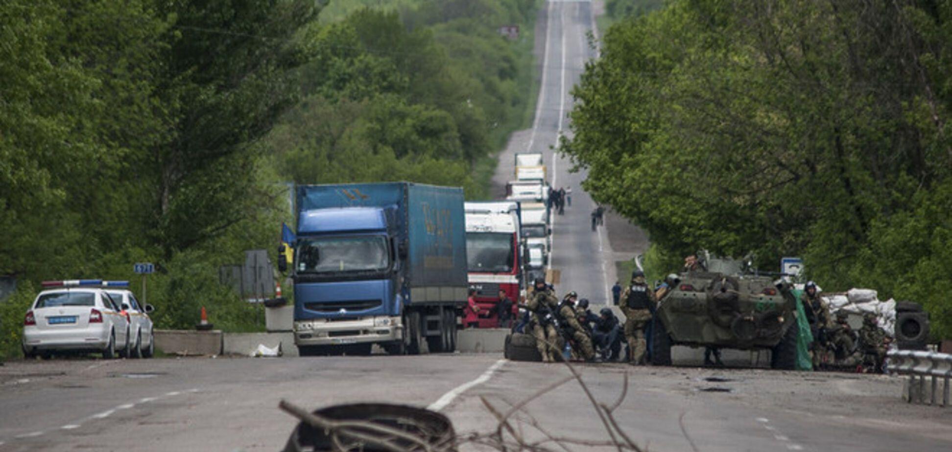 АТО на Донетчине: уничтожено часть блокпостов террористов