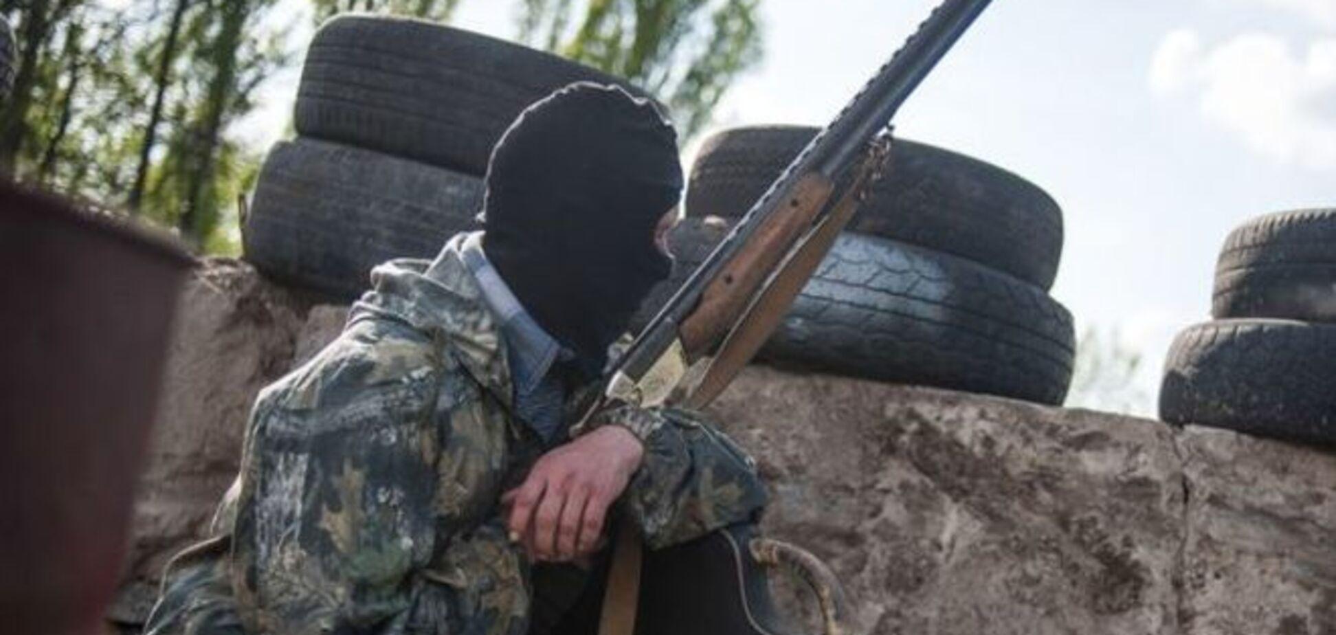 Террористы на Луганщине захватили нефтебазу
