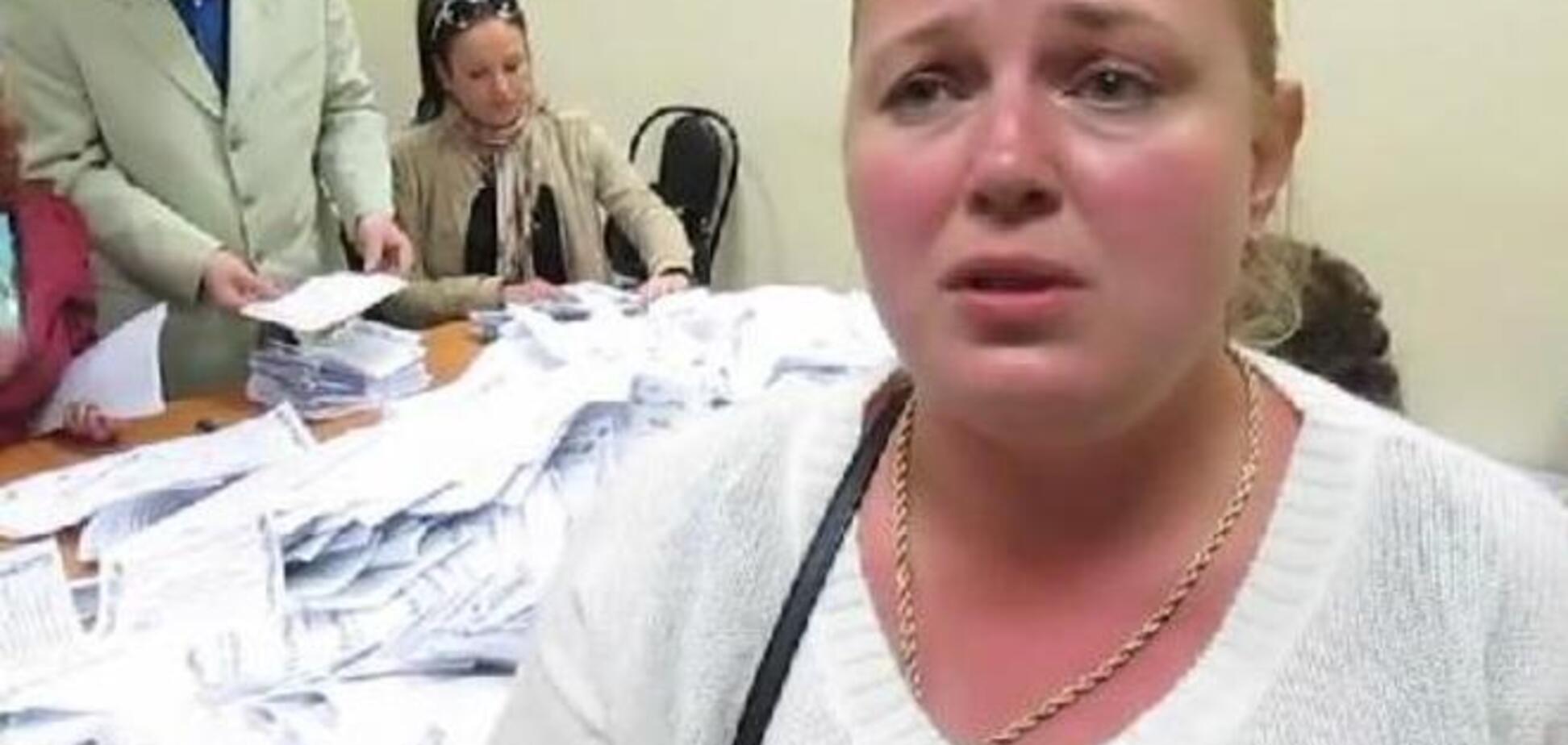 Гастролерша-сепаратистка Ципко руководила псевдореферендумом в Москве. Видеофакт