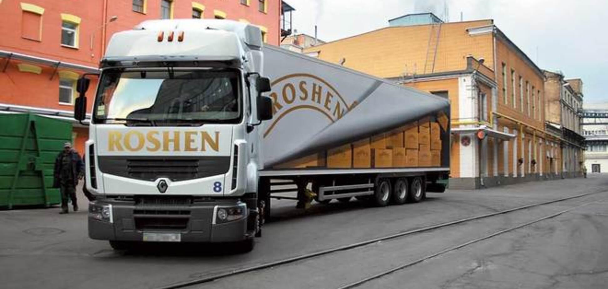 Террористы в Донецке захватили грузовики ROSHEN и требуют за них выкуп