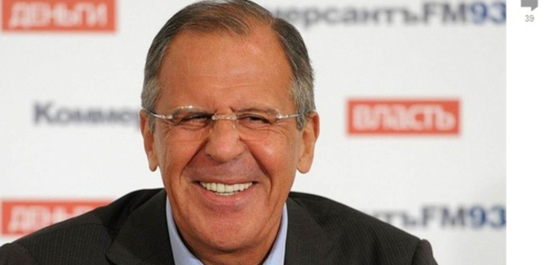 Російські ЗМІ пропонують всім побути 'в шкурі' Лаврова