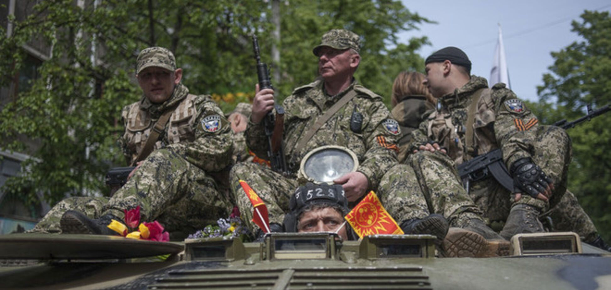 Террористы взяли в плен полковника внутренних войск