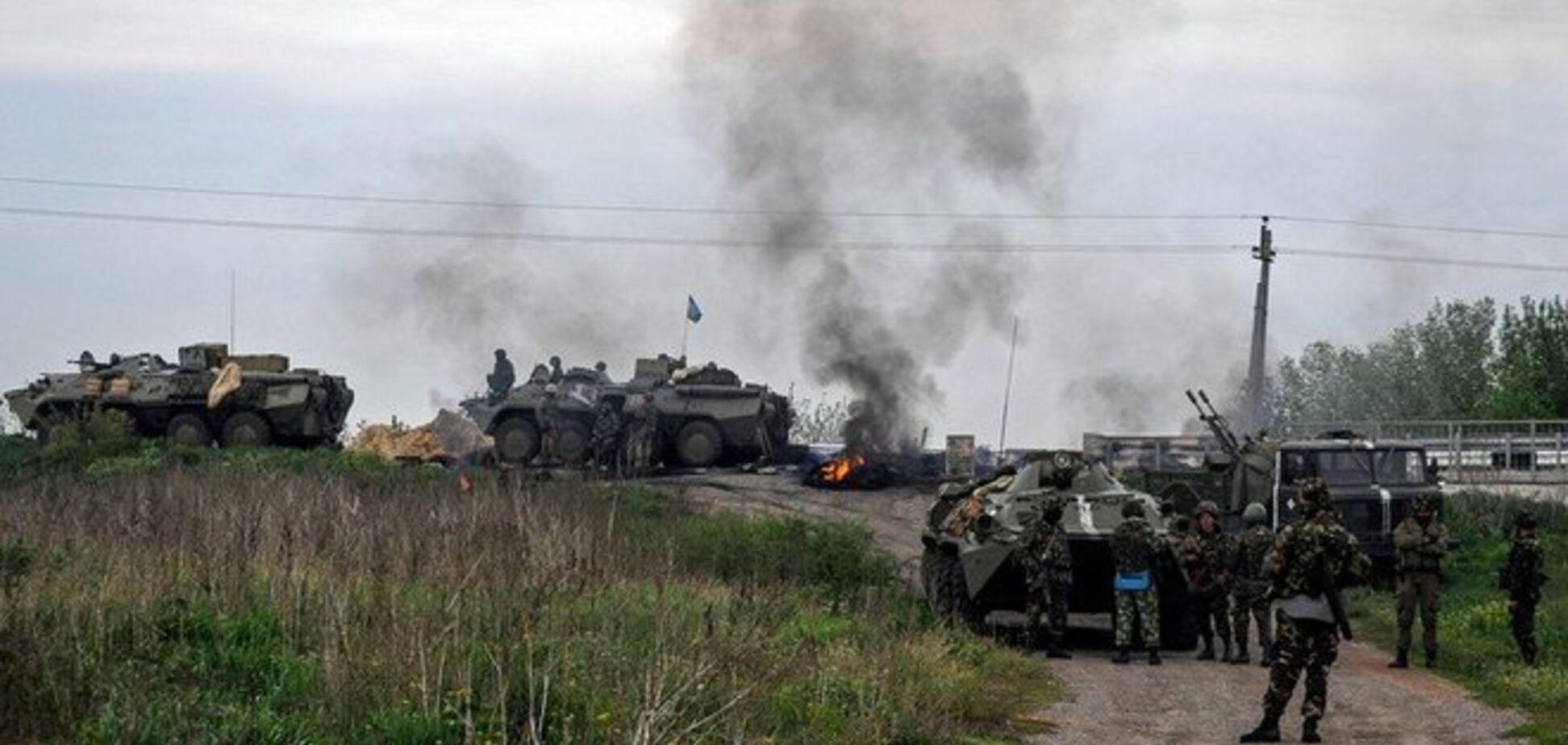 Террористы, расстрелявшие десантников под Краматорском, сидели в засаде несколько дней - источник