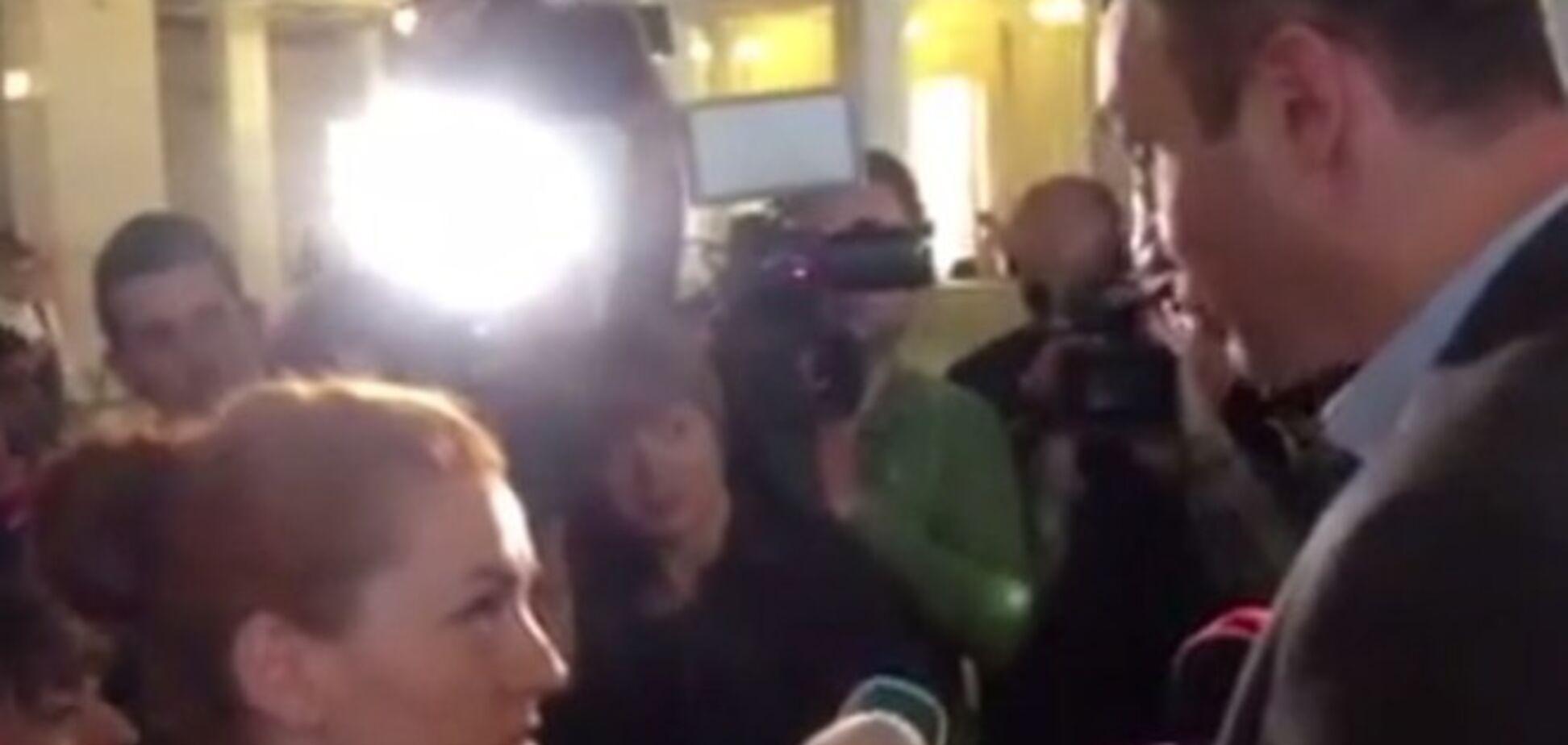 Оробец поссорилась с Кличко из-за выборов