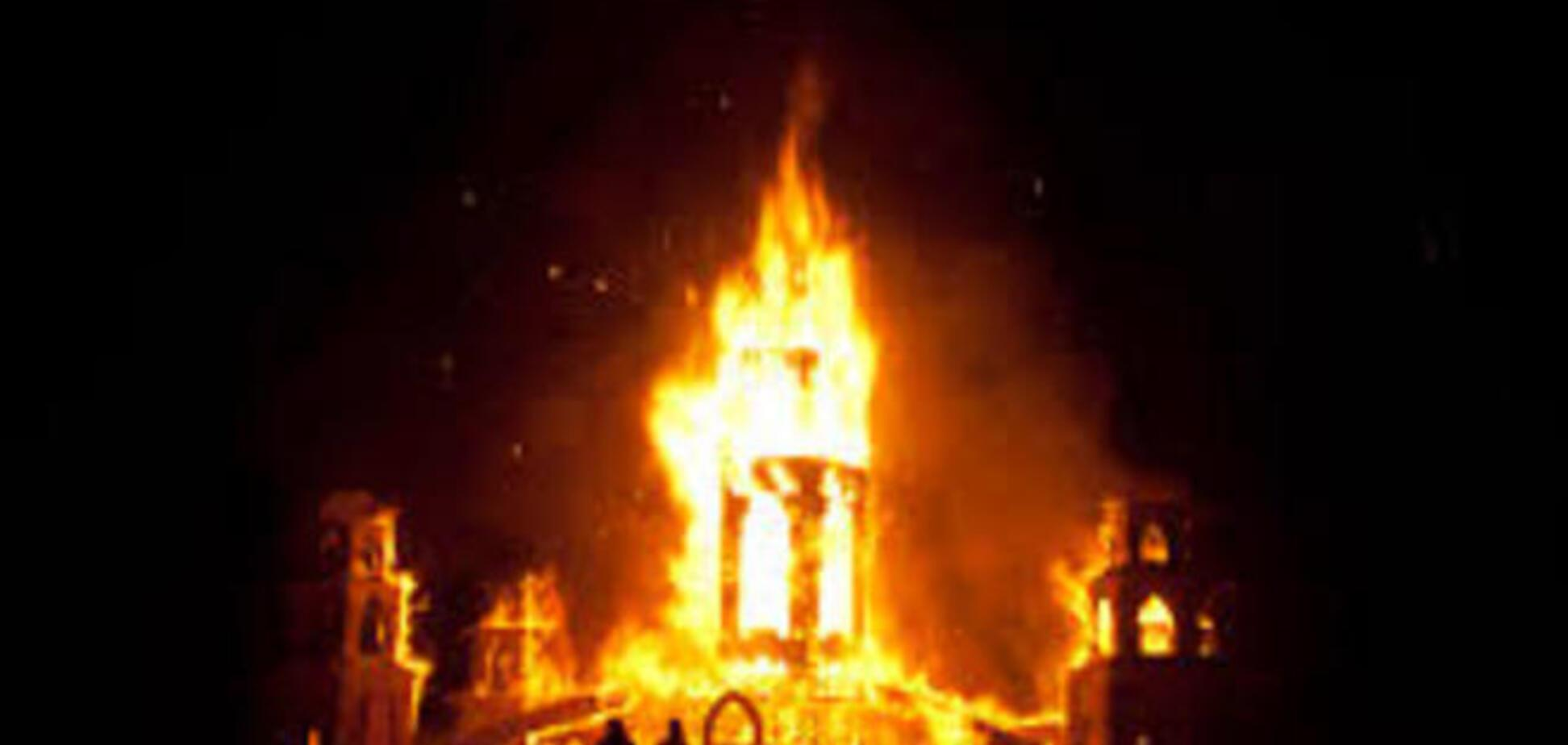 Поджигателем церквей на Тернопольщине оказался житель Донбасса