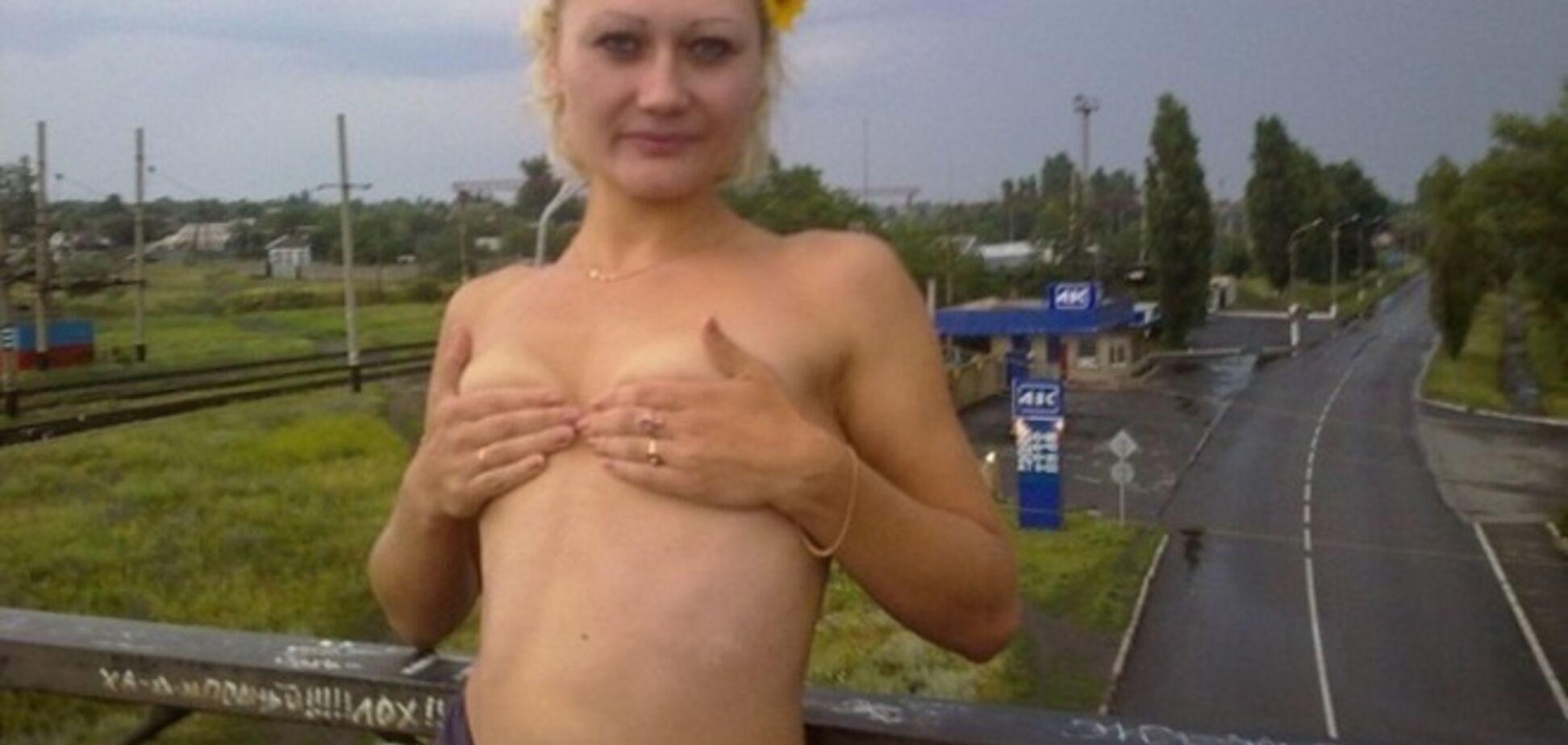 Луганские террористы не знают 'министра' Филатову, которая позировала топлесс