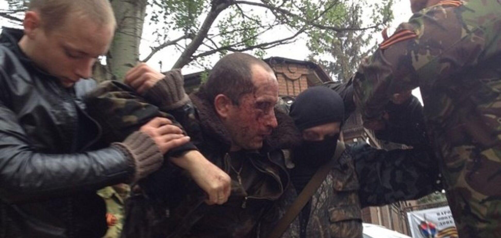 Пилот сбитого террористами в Славянске вертолета госпитализирован