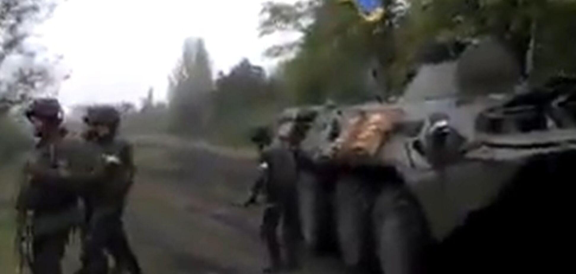З'явилося відео підготовки АТО в Слов'янську