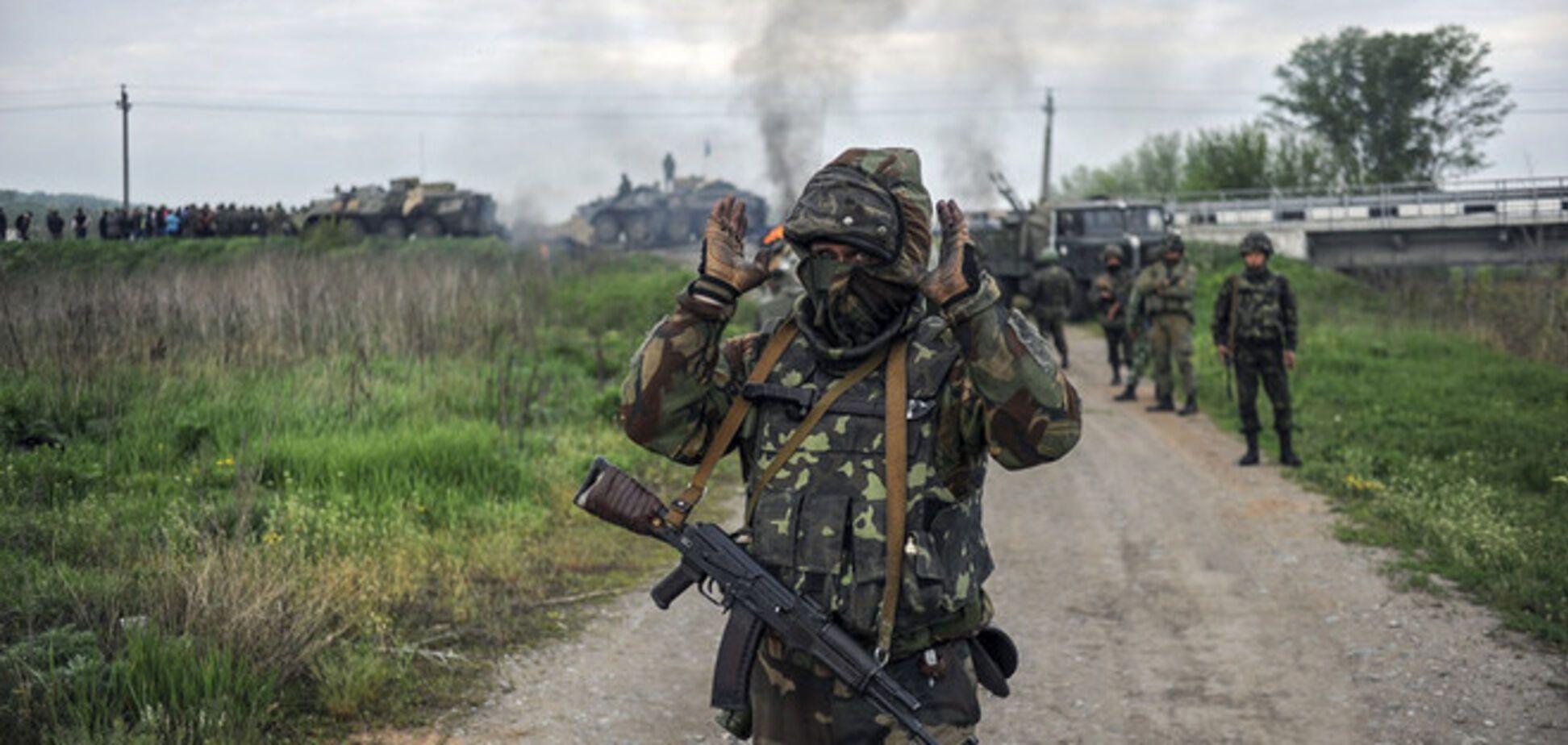 Террористы на Луганщине атаковали погранзаставу