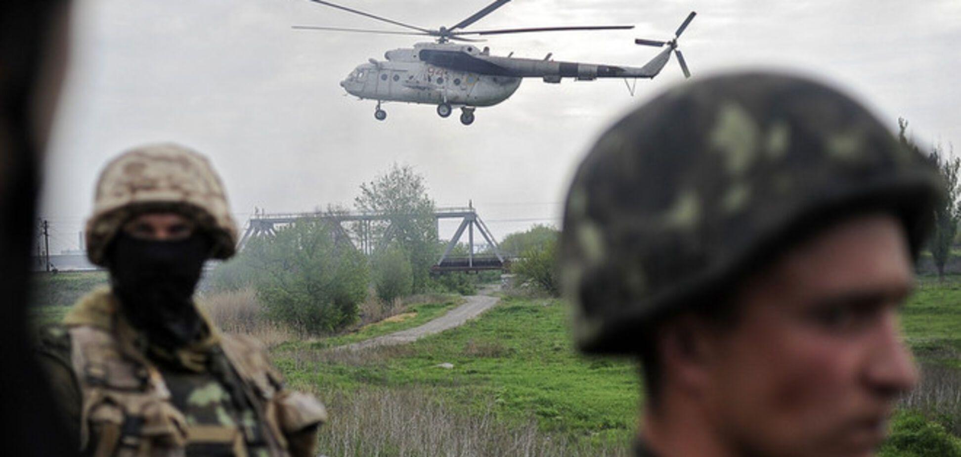 В Славянске террористы из жилых кварталов обстреляли силовиков: есть раненые